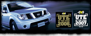 navara won the best 4x4 ute award 2 years in a row