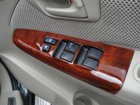 wooden switch panel