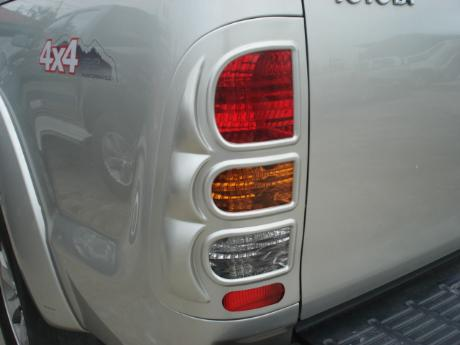 vigo rear light silver color
