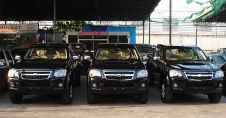Chevy Colorado 2008 rows  - Get your Chevy now at Soni Motors Thailand and Jim 4x4 Thailand