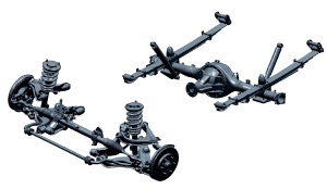 mitsubishi triton suspension is double wishbone. Get your wishes at Soni Motors Thailand and Dubai