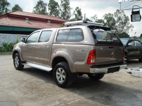 canopy new Toyota Hilux Vigo Double Cab at Thailand's top Toyota Hilux Vigo dealer Soni Motors Thailand