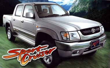 thailand's top toyota hilux sportcruiser exporter